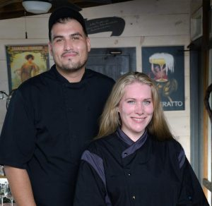 Executive Chef Madeline and Sous Chef Alejandro